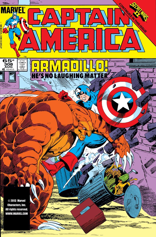 Captain America (1968) Issue #308 #236 - English 1