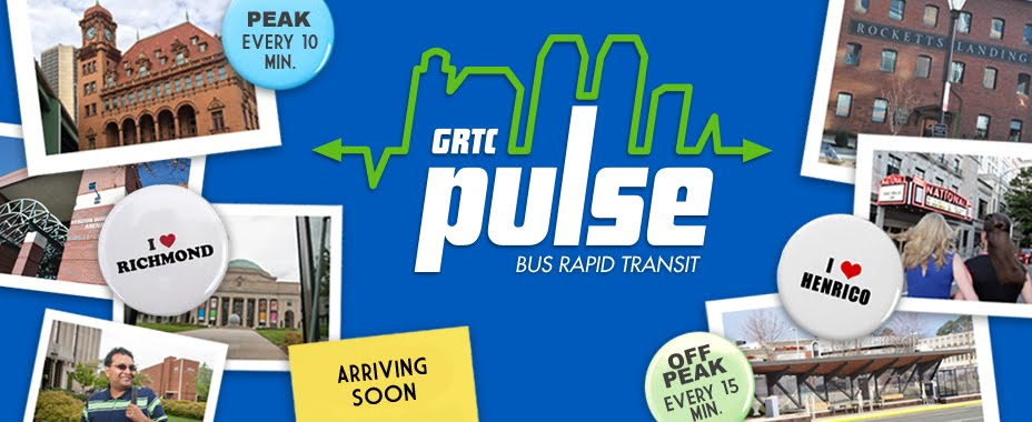 GRTC Pulse - Bus Rapid Transit