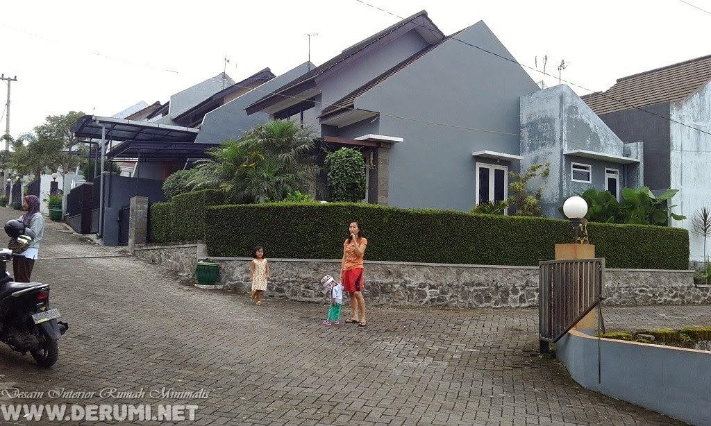 pintu gerbang perumahan