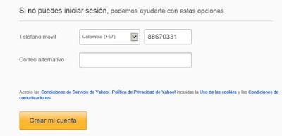 configuracion yahoo mail