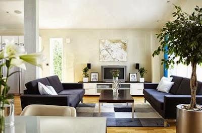 inspirasi desain rumah minimalis modern: interior rumah