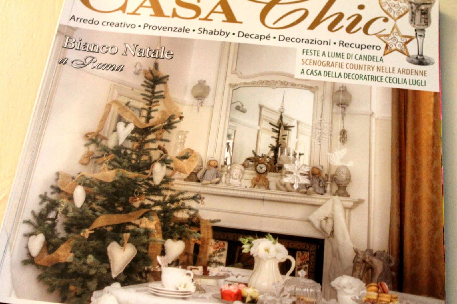 my little cozy home (cilli studio): bianco natale su casa chic - Casa Chic Rivista