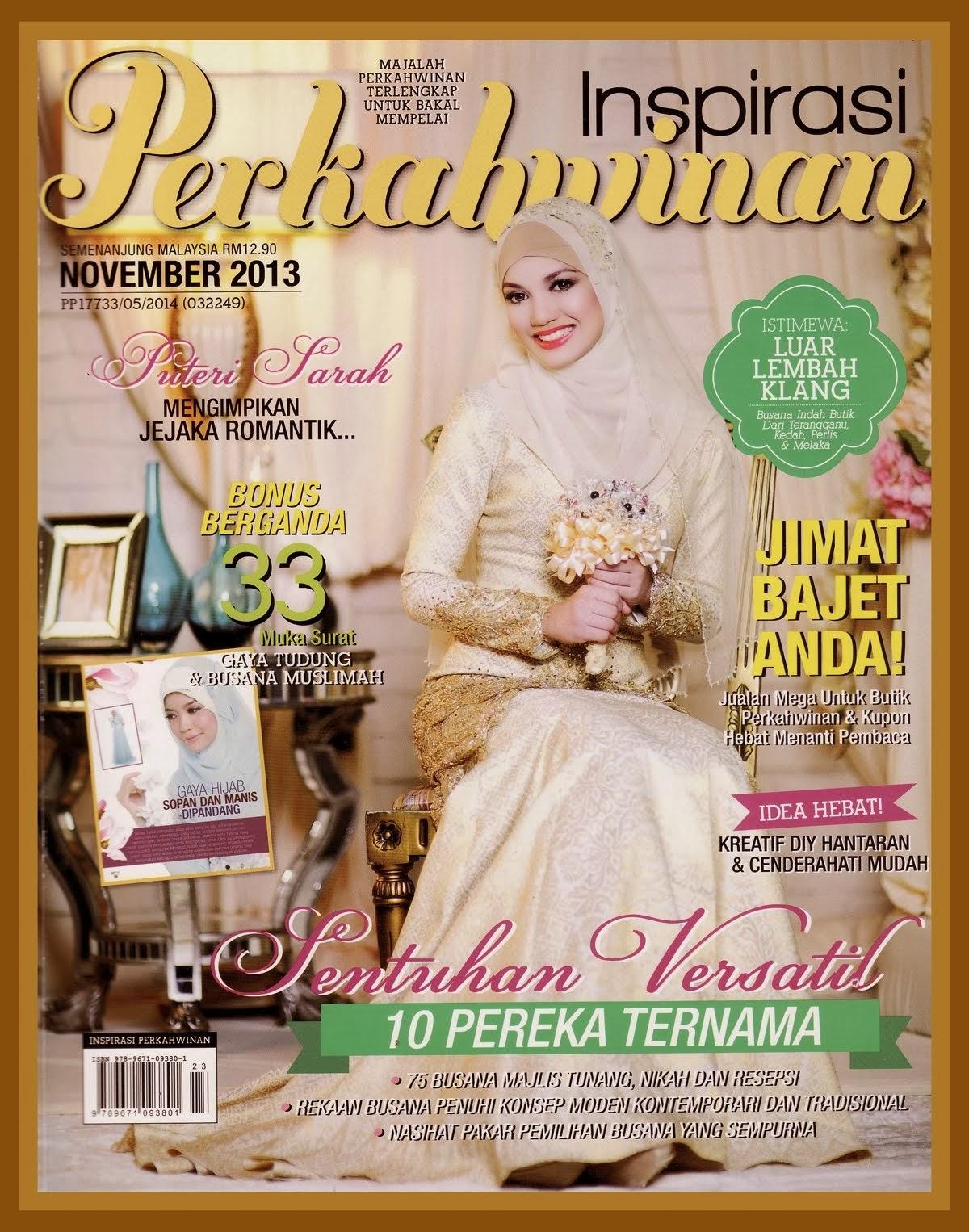 CANDY PARADISE DALAM  INSPIRASI PERKAHWINAN ISSUE NOVEMBER 2013