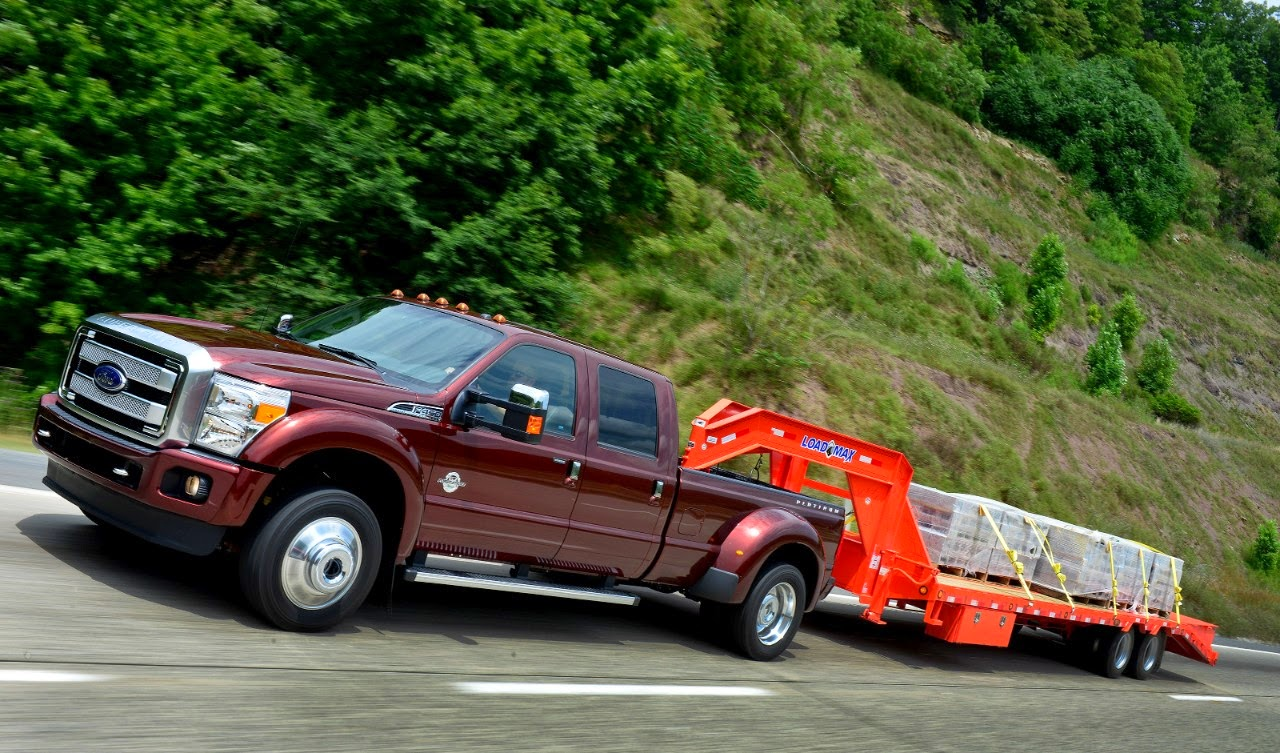2015 Ford F-450 Offers Best In Class Towing