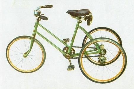 Комбинированный детский велосипед ДКВ – 3