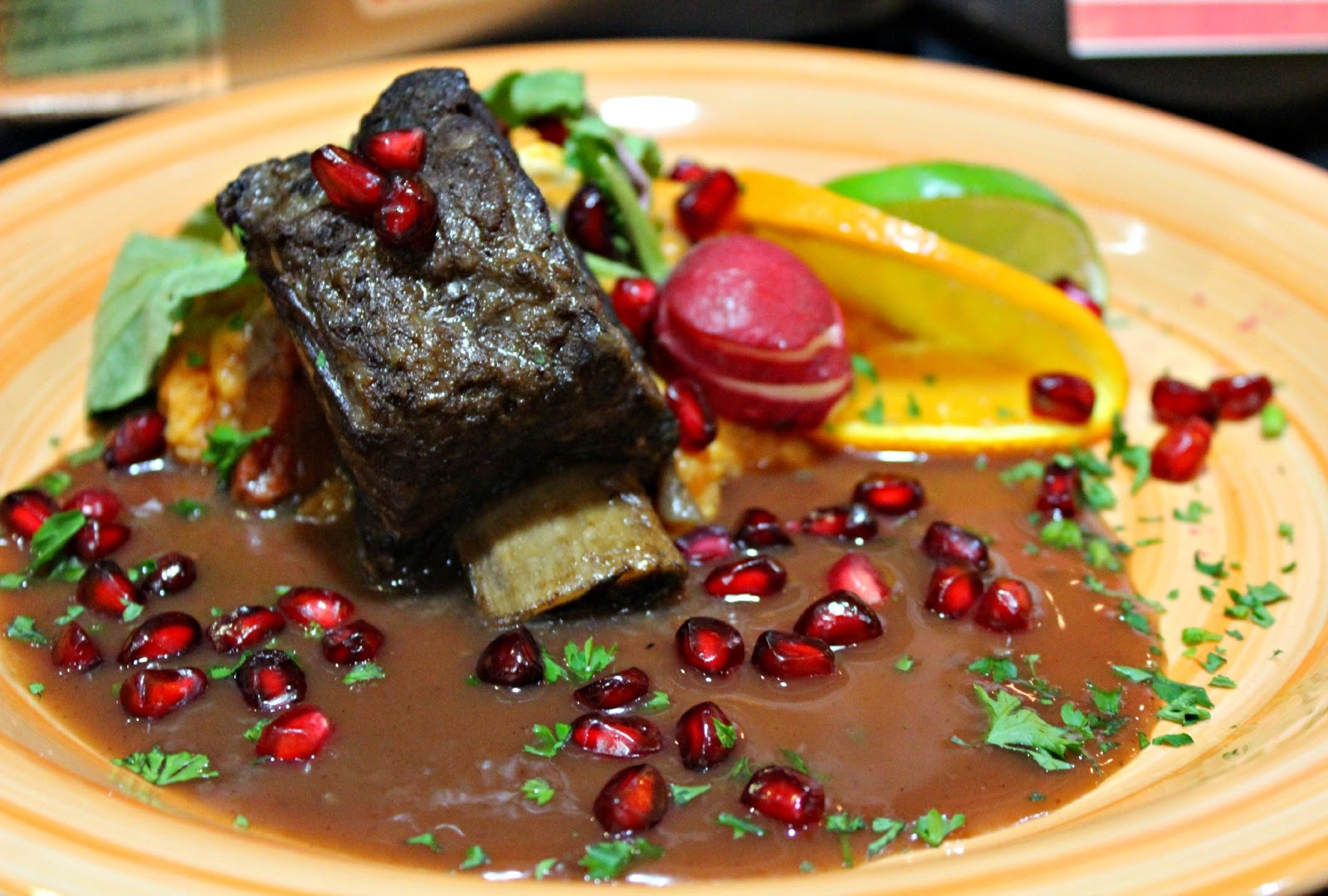 braised beef short ribs recipe yummly pomegranate braised short ribs ...