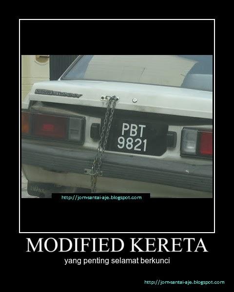 MODIFIED KERETA