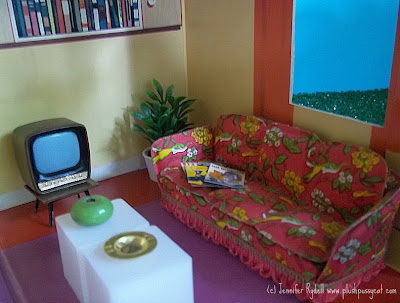 mid century modern dollhouse furniture. 1950s To 1960s Triang Spot-On TV With Stand--love It! Mid Century Modern Dollhouse Furniture 2