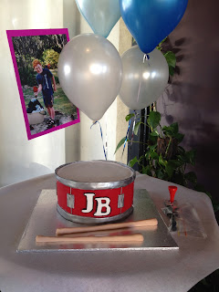 Snare Drum Cake Ideas