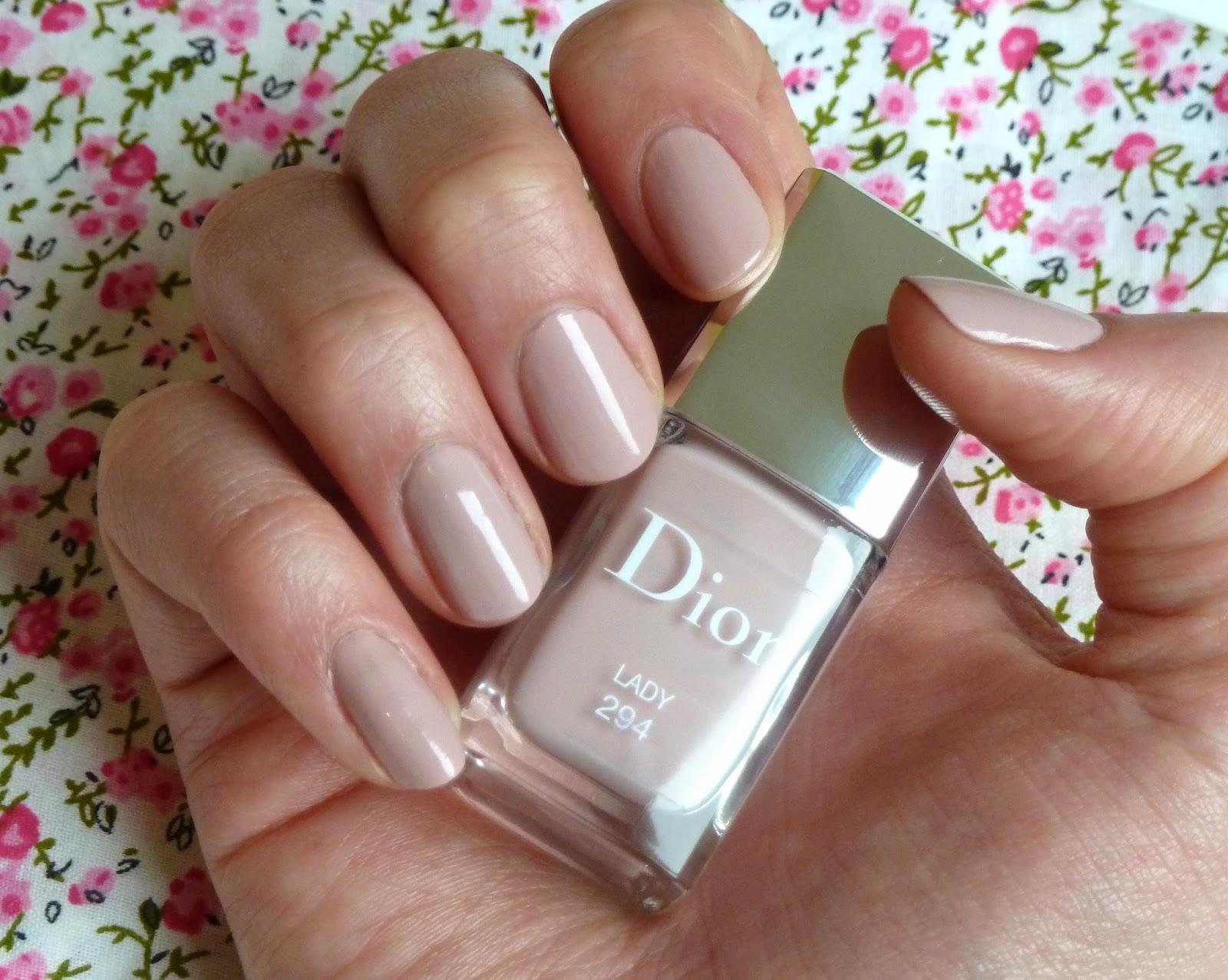 Super Aventures d'une bruxelloise : Le vernis Lady de Dior - le nude  JK12
