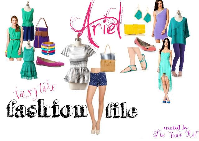 fairy tales, fashion, lookbooks, the little mermaid