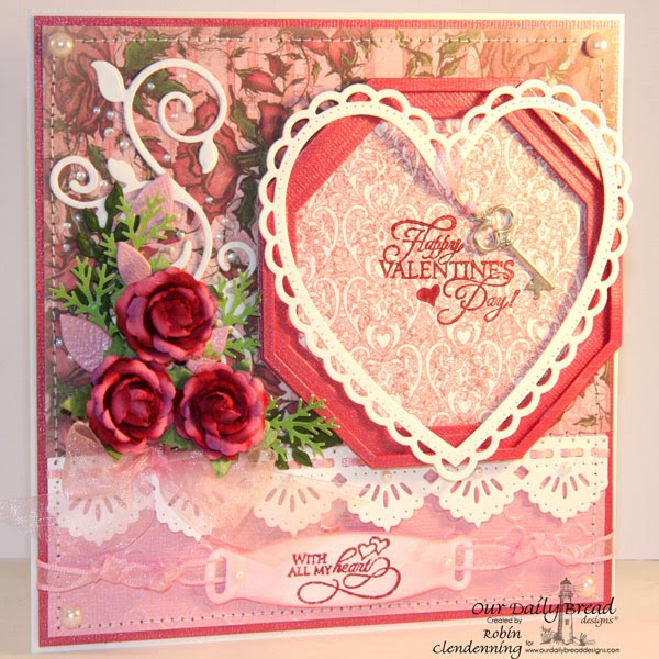 ORNATE HEARTS, BEAUTIFUL BORDERS AND FANCY FOLIAGE DIE SETS