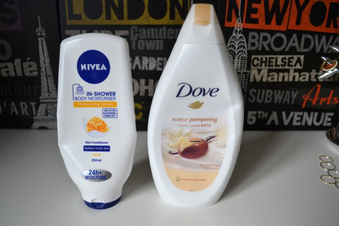 Dove Purely Pampering Shea Butter and Warm Vanilla Bath Cream