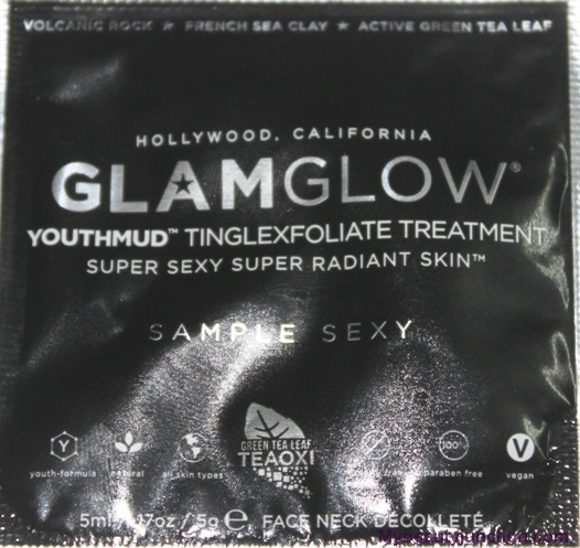 GlamGlow YouthMud Tinglexfoliate Treatment pack review
