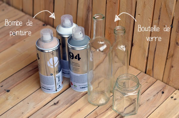 Diy  Vases Bon March  Blog Mode Lyon  Sauce Mode