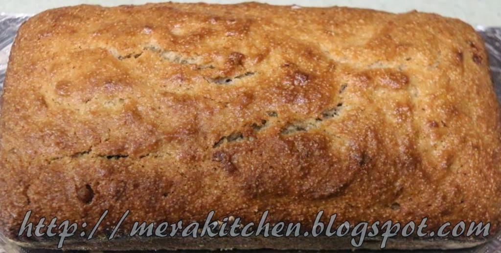 Merakitchen banana bread with all purpose flour semolina amp coconut