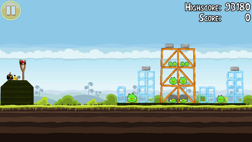 Angry Birds 4-5 Mighty Hoax