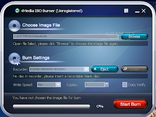 برنامج 4Media Burner لنسخ وحرق
