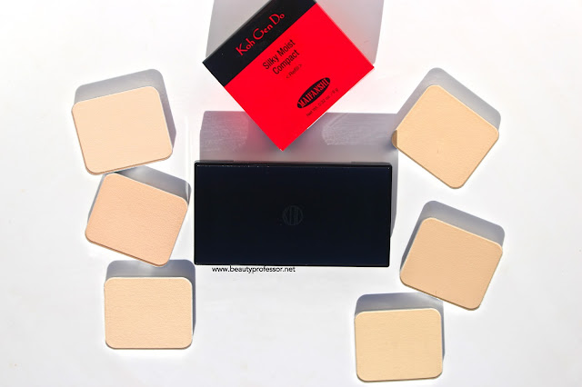 koh gen do silky moist compact powder swatches