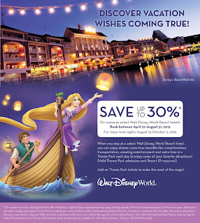 Walt Disney World Fall savings