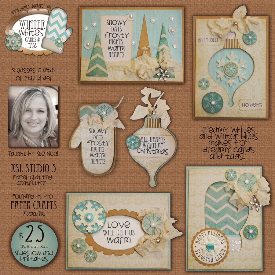 Winter Whites Cards & Tags