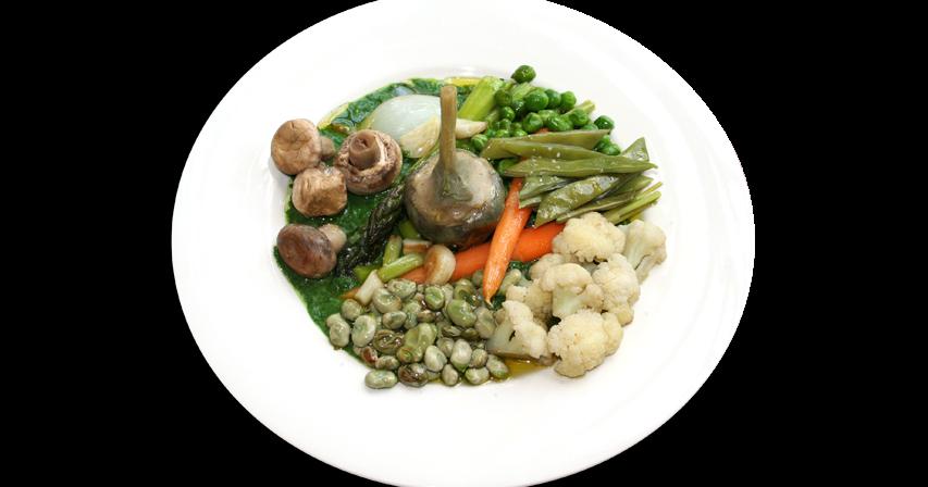 Cocina muy sencilla menestra de verduras - Menestra de verduras en texturas ...