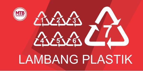 Arti Kode Segitiga Bernomor di Plastik yang Wajib Kamu Ketahui