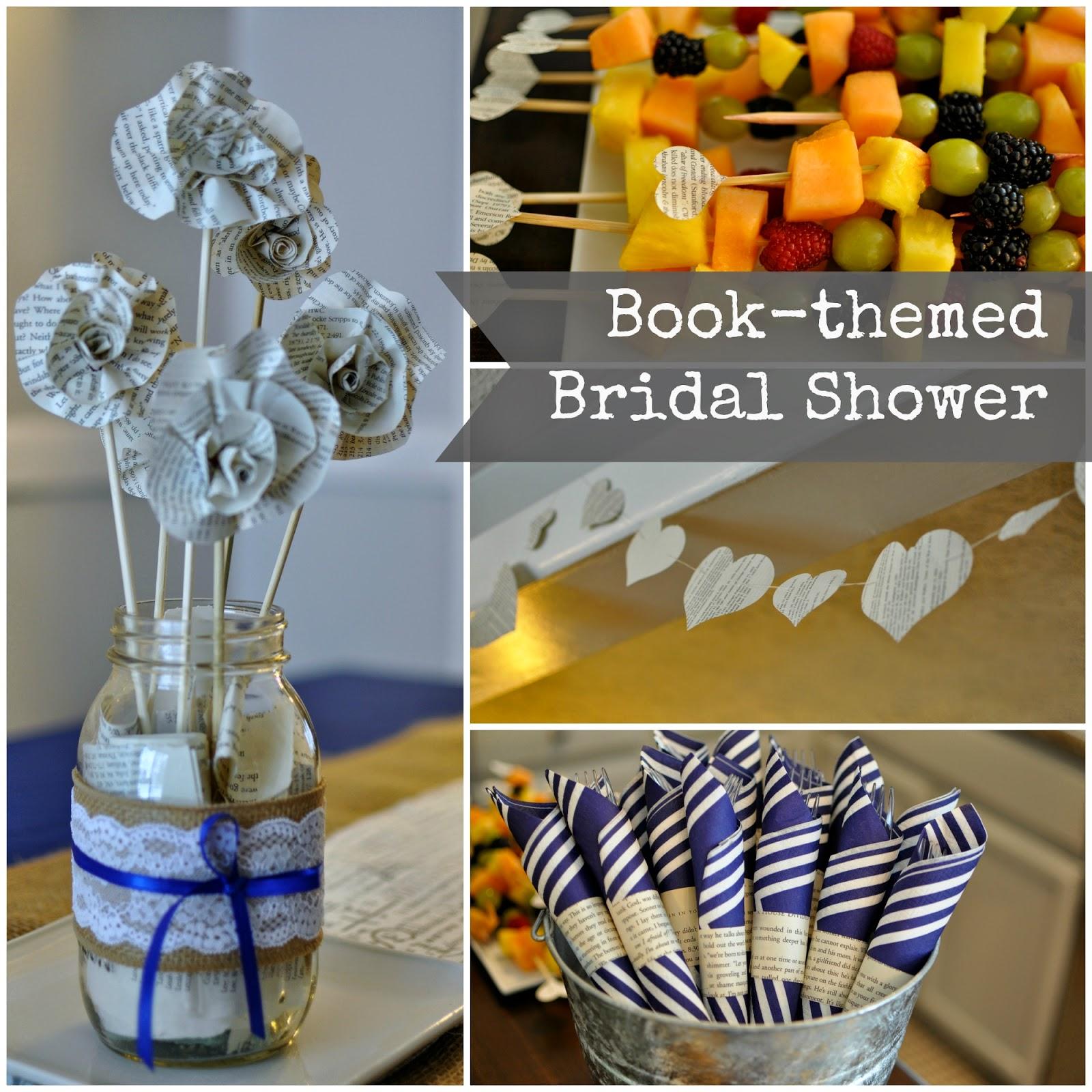 Nbrynn Book Themed Bridal Shower