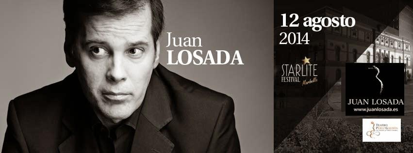 Juan Losada Cantante Solidario