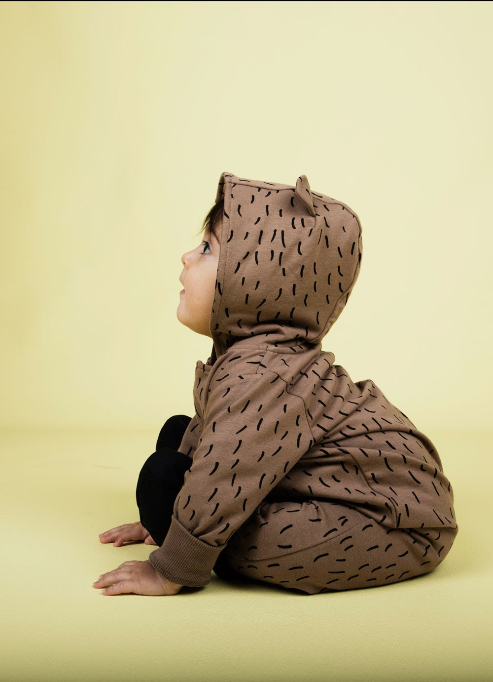 Cosy bear onesie by Mini Rodini for  Autumn/Winter 2014 kids fashion collection