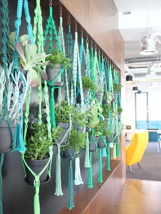 vaso de planta, vaso de macramê, macrame, hanging plant, hanging vase, vase
