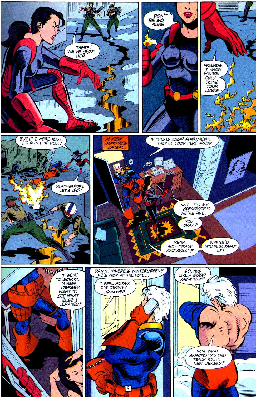 Deathstroke (1991) Issue #38 #43 - English 10