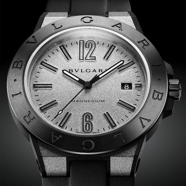 Bvlgari Diagono Magnesium Mechanical Watch