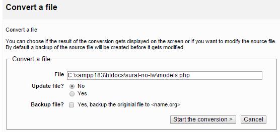 Persiapan untuk PHP 7