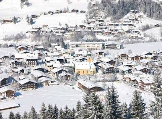 Austria, filled up with snow