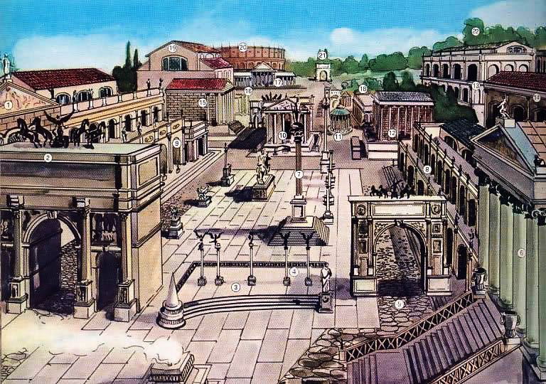 Il foro romano - Divo santa maria a monte ...