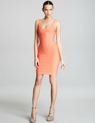 Basic Scoop-Neck Bandage Dress