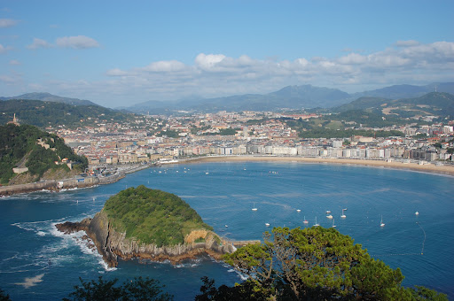 San Sebastian Spain hotel views