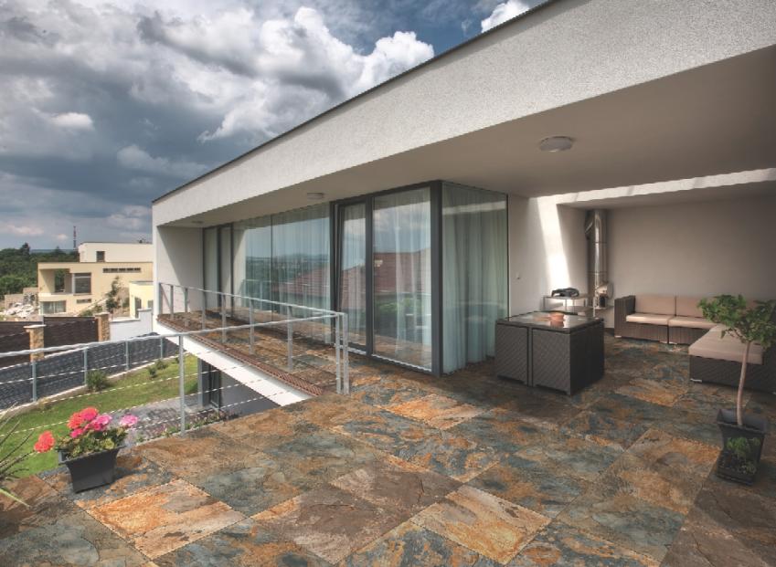 Pisos y azulejos para decorar tu casa for Pisos de piedra para terrazas