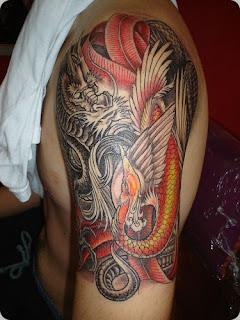 imagens de tattoo de dragão