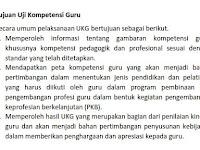 UKG 2015 bukan untuk Pemotongan Tunjangan Profesi Guru