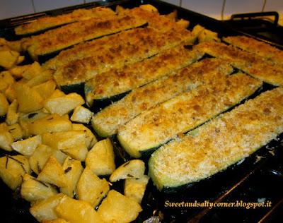 zucchine ripiene (vegetariane)