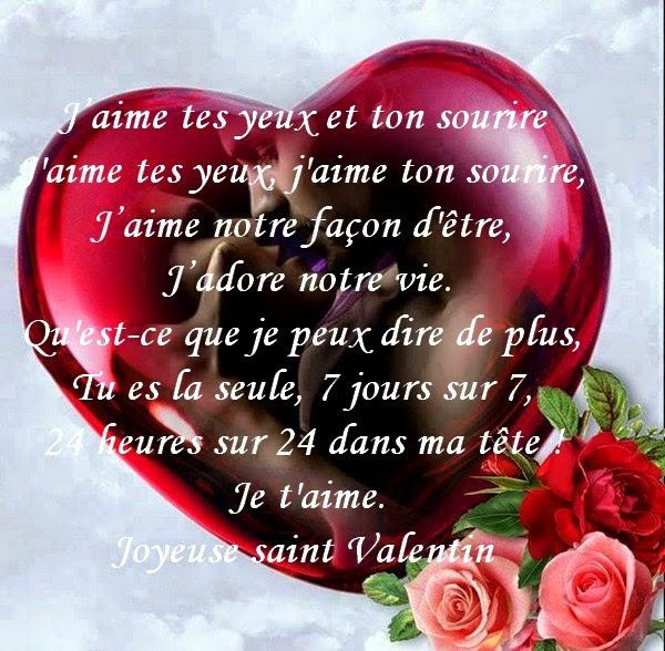 Les poemes d 39 amour romantiques - Poeme d amour pour la saint valentin ...
