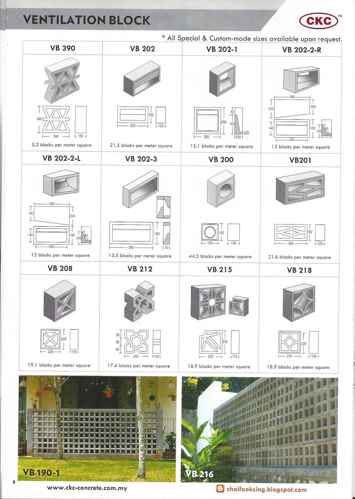 Ventilation block price