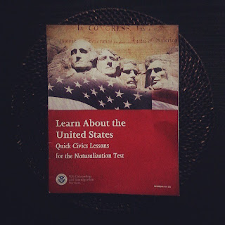 Civics Lessons for the U.S. Naturalization Test  |  Almost an American on *sparklingly  |  http://sparklingly.blogspot.com