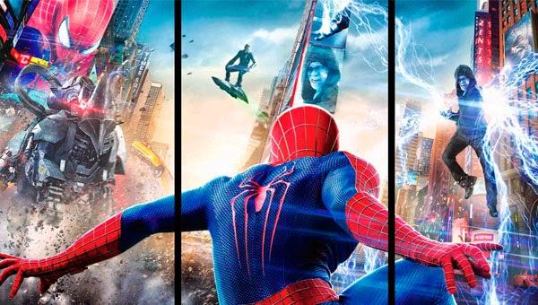 Spider-man contra 3 de los Seis Siniestros