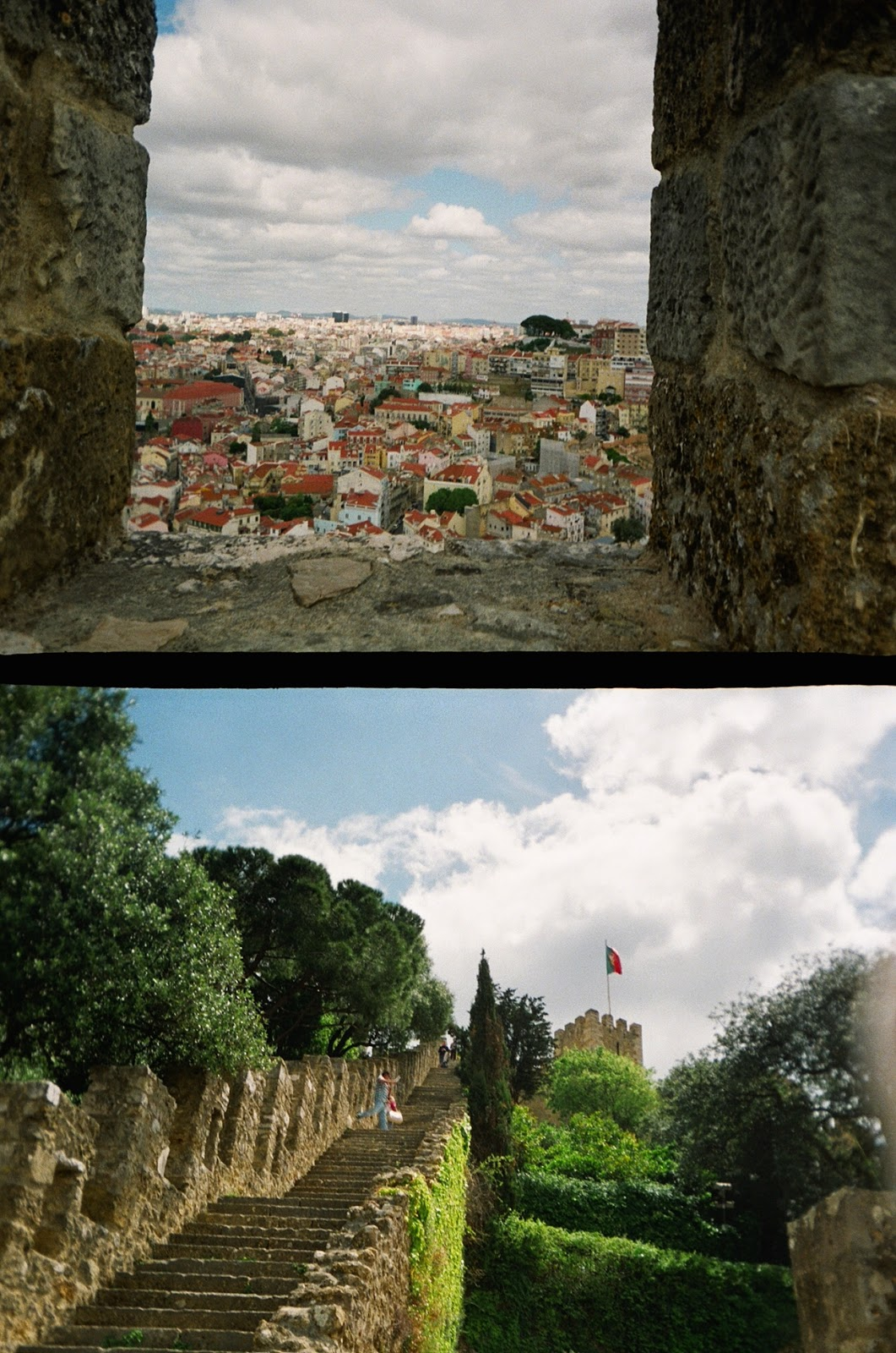 Lisboa Lisbon film photography goldenhalf