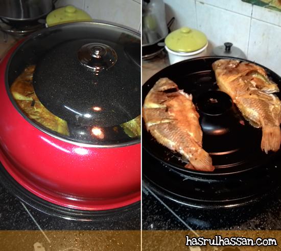 Kuali Goreng Ikan Guna Air Hydro Health Cookware