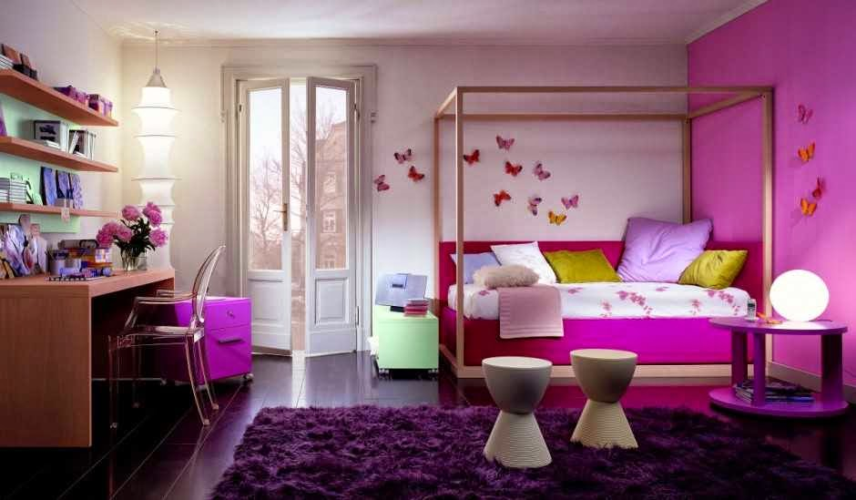 Purple Kids Room Ideas for Girls