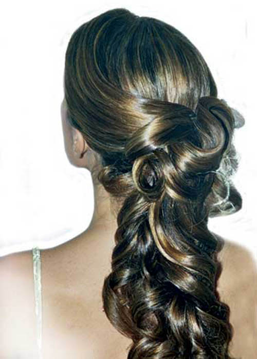 Remarkable Wedding Hairstyles Long Hair 500 x 700 · 47 kB · jpeg